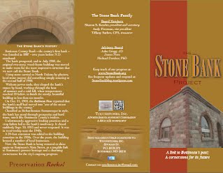 New Stone Bank Project brochure