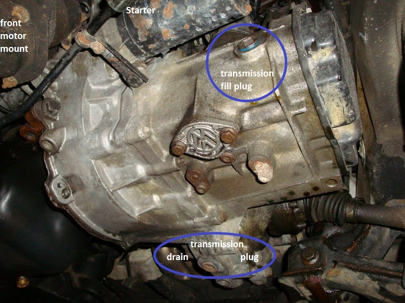 Gearbox Oil Change Audi A2 Owners Club