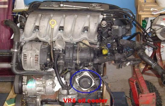 Vwvortex Com Vr6 Oil Cooler Seal Diy
