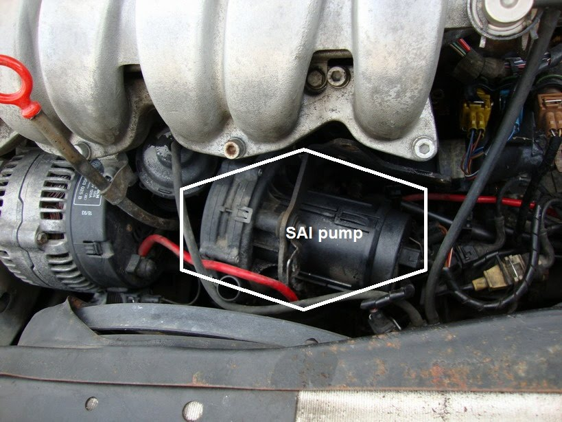 Removing the SAI (Secondary Air Injection) system - izzo