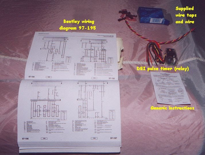 ot_items one touch sunroof opening using a dei timer relay izzo @ google 528t pulse timer wiring diagram at aneh.co