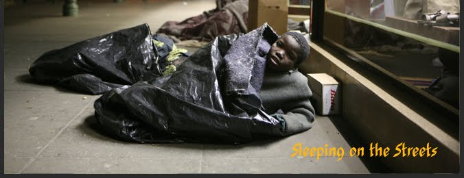 Sleeping on the Streets in Harare
