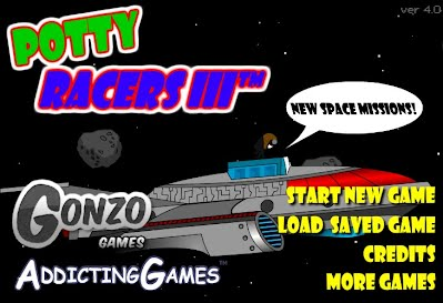 Unblocked games potty racers 4