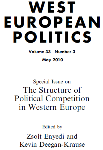The Structure of Political Competition in Western Europe (West European Politics)