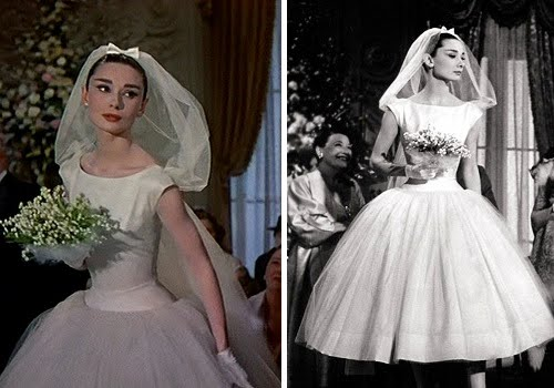 Audrey Hepburn Funny Face Wedding Dress 2 Trend One of the biggest