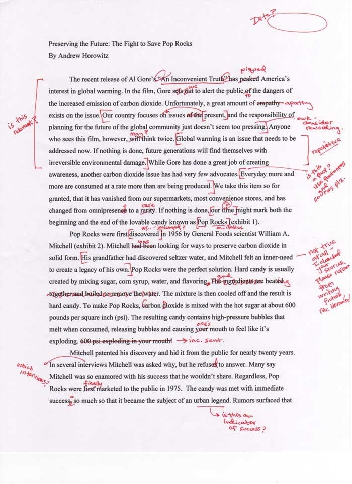 Using appropriate words in an academic essay