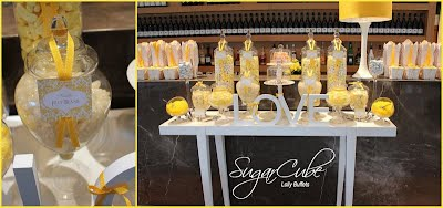 Yellow Wedding Lolly Buffet Candy Bar