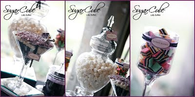 SugarCube Purple Lolly Buffet Candy Bar
