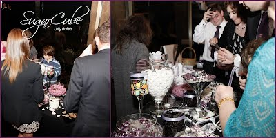 SugarCube Purple Wedding Lolly Buffet Candy Bar