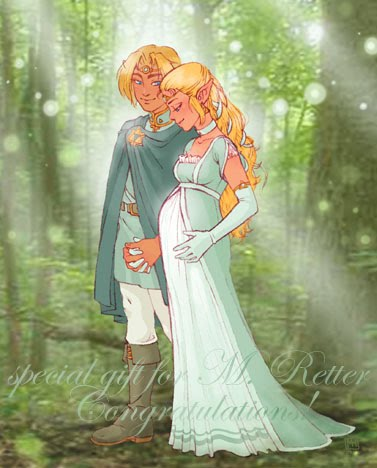 daughter maybe nice too Zelda And Link Wedding