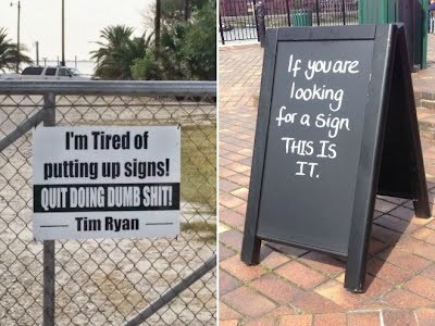 Funny Sign 14