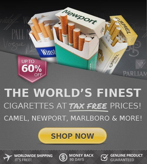 Buying American cigarettes Gauloises online