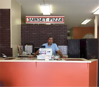 Sunset Pizza & Grille Order Counter