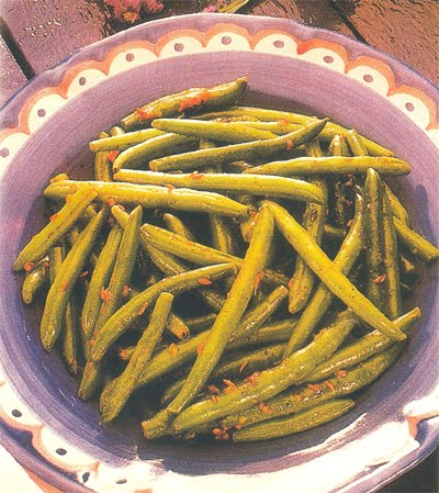 Green Beans in Garlic Butter