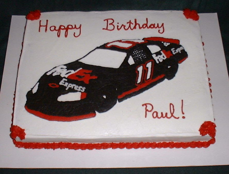 NASCAR Cakes http://sites.google.com/site/sunshinespecialtycakes/birthdaycakes