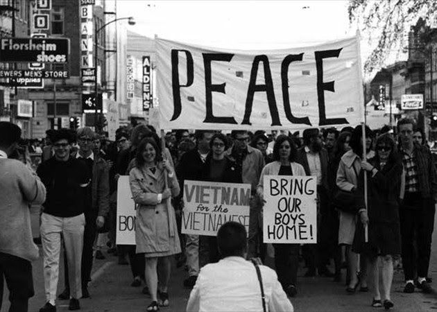 protest movement vietnam era how changed america The peace movement at american state universities in of america, so their student protest movements of the vietnam war era.