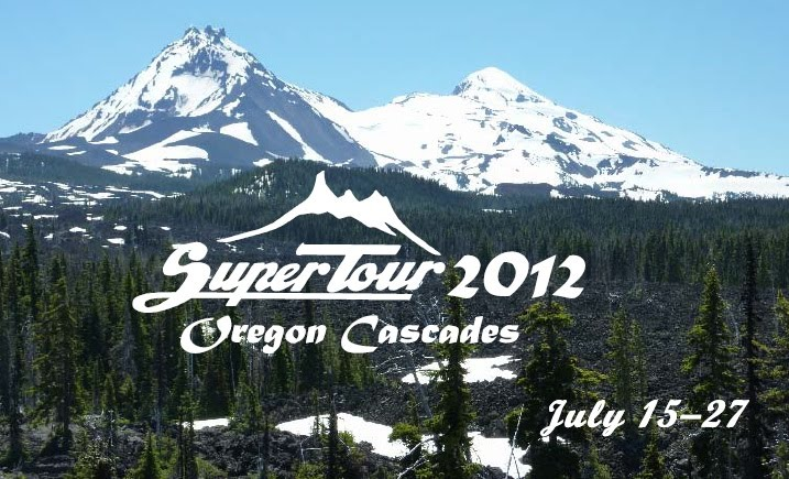 SuperTour 2012 will take place in the Oregon Cascades from July 15 to July 27.