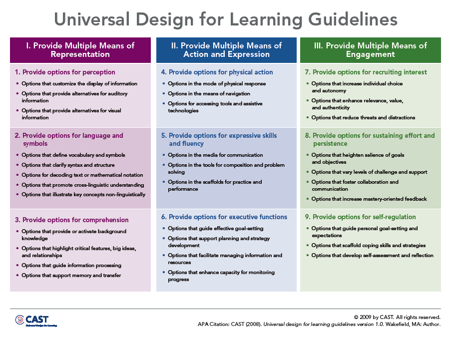 Overview Of Udl Differentiated Instruction Content Based Strategies Resources By Meg Winemiller