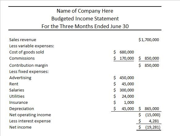 Company Income Statement  TvsputnikTk