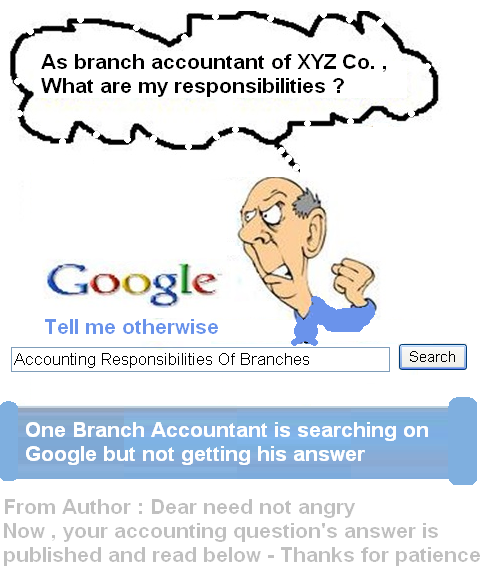 accounting responsibilities of branches