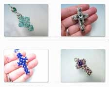 how to notes and samples on handmade crosses crucifixes