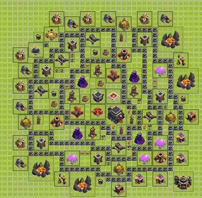 town hall 9 base designs shadow walkers clash of clans