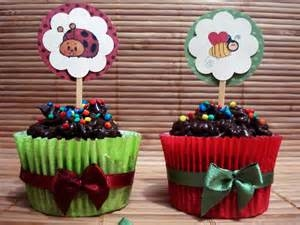 Cup Cakes Decorados Sweeties Cup Cake