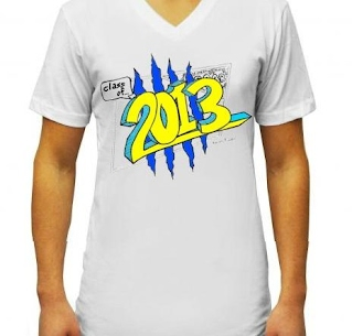 Order your shirt syhs class of 2013 for T shirt fundraiser site