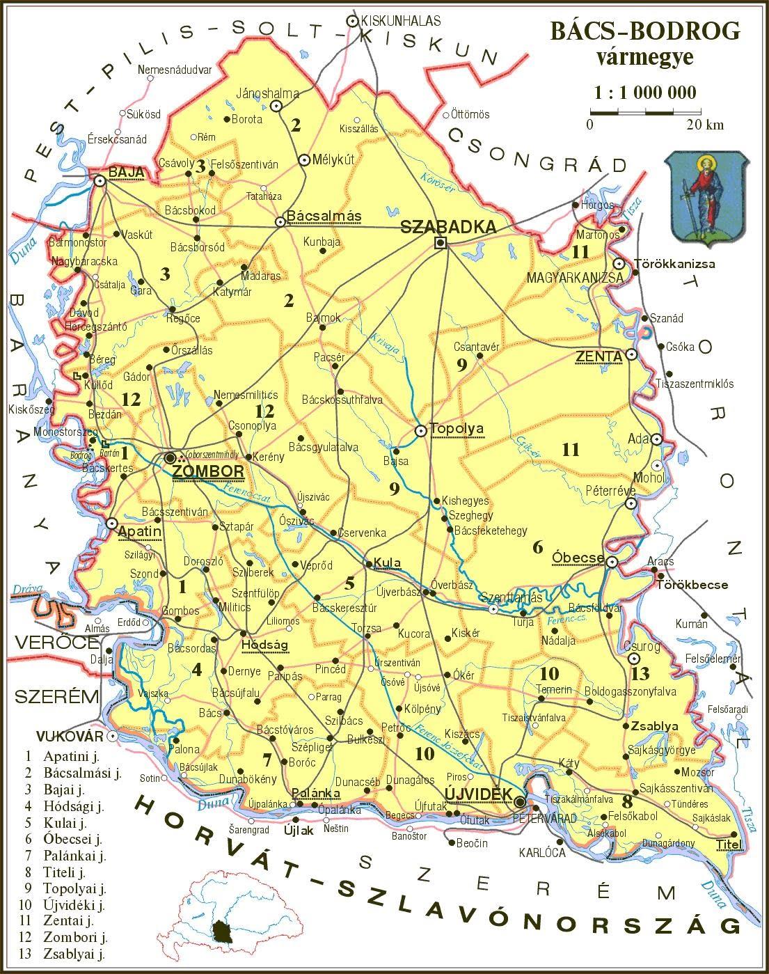 vármegyék térkép terkep   szilagyinfo