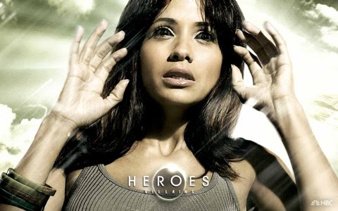 Dania Ramirez as Maya in a Heroes promo shot