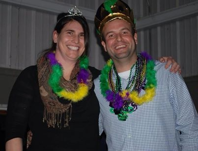 Congratulations to Kim Richter and JD Vonderheide on winning Queen and King of Mardi Gras!