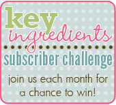 Key Ingredients Subscriber Challenge