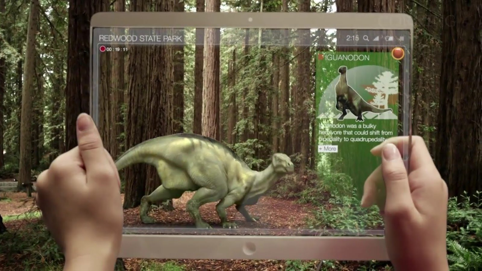 Iguanadon, Augmented Reality Trends - http://tinyurl.com/gn94jhl