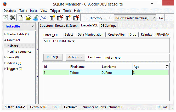 Tom DuPont  NET: How to use Entity Framework and SQLite