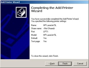 Add Printer Welcome