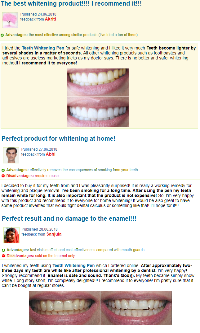 Teeth Whitening Pen Reviews Customer Real Experience And Opinion