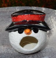 https://www.ebay.com/itm/My-Snowman-Candy-Shaker-Red-Black-HAND-PAINTED-GLAZED-by-me/222724732822