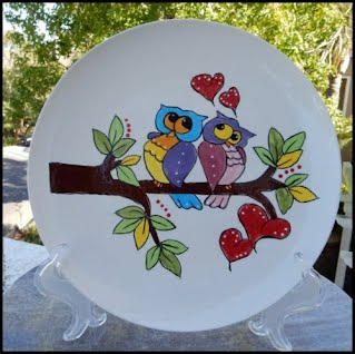 https://www.ebay.com/itm/My-CUTE-10-3-4-Loving-Couple-Owls-Plate-Hand-Painted-and-Glazed-by-me/222725970040