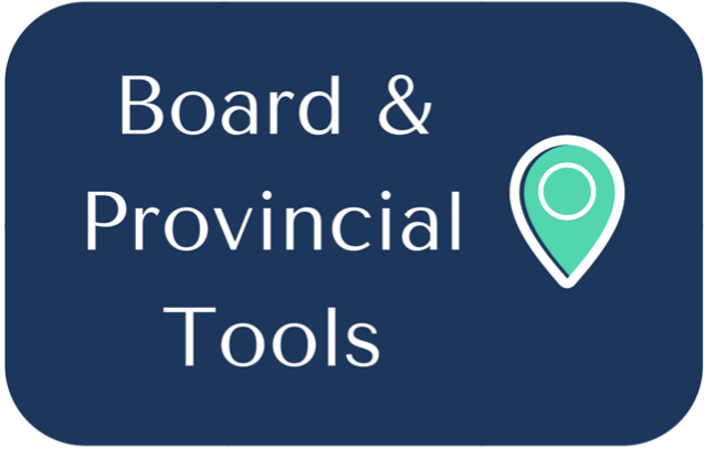 Board & Provincial Tools