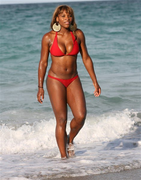 Think, Serena williams bikini rather