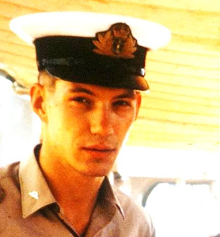 Terry David Silvercloud age 21 while a Sub-Lieutenant in the Royal Canadian Navy