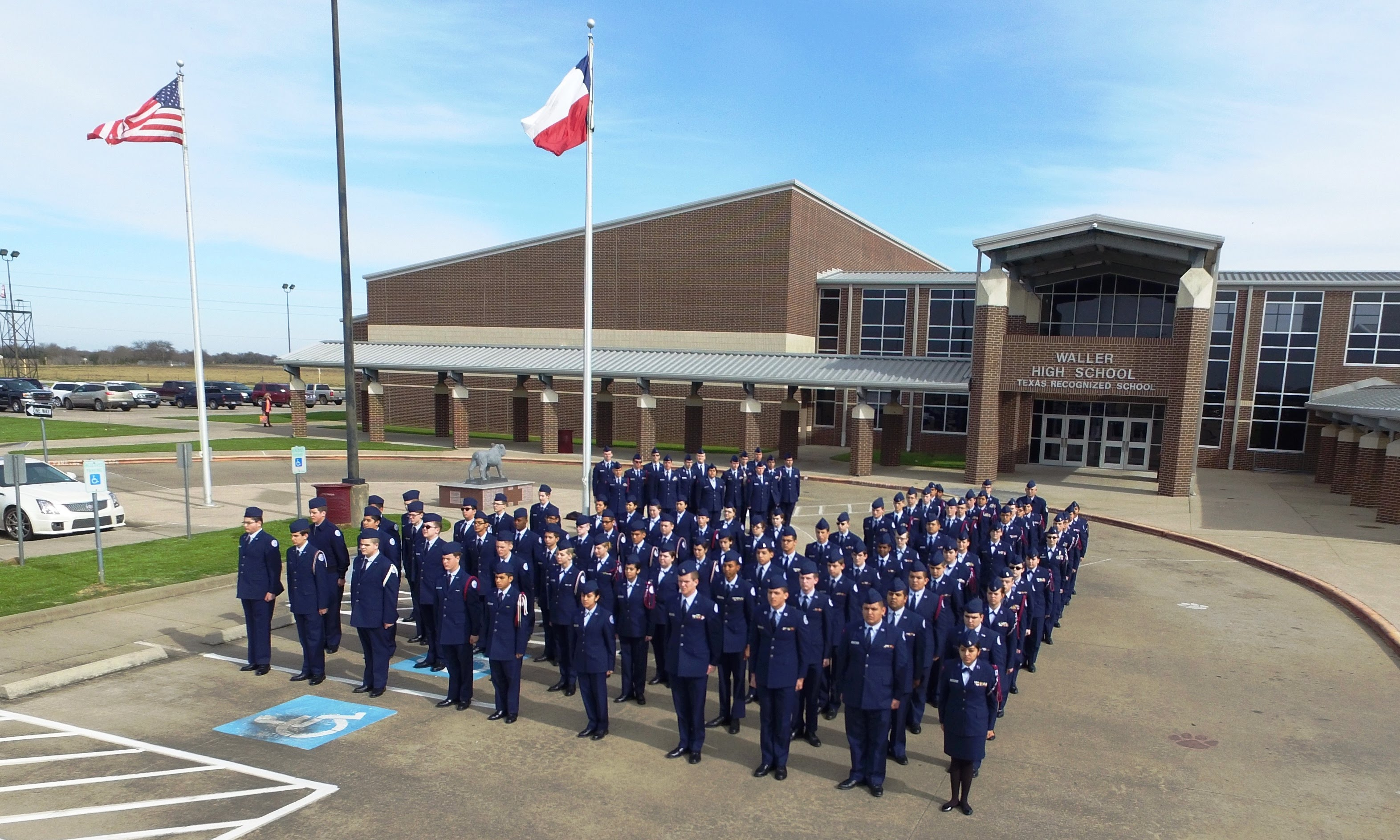 The Texas 20065th Cadet Corps
