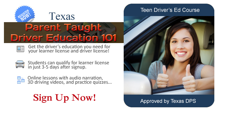 Teen Driving Course >> Applying For A New Driver S License Texas Ptde Parent