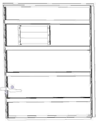 Four and a Half Panel Superior Boxcar Door