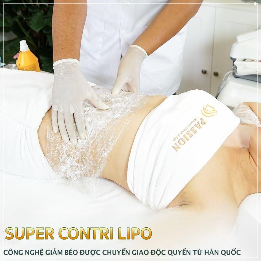 Năm 2018, Passion Beauty Center thực hiện ký kết độc quyền công nghệ giảm béo Super Contri Lipo