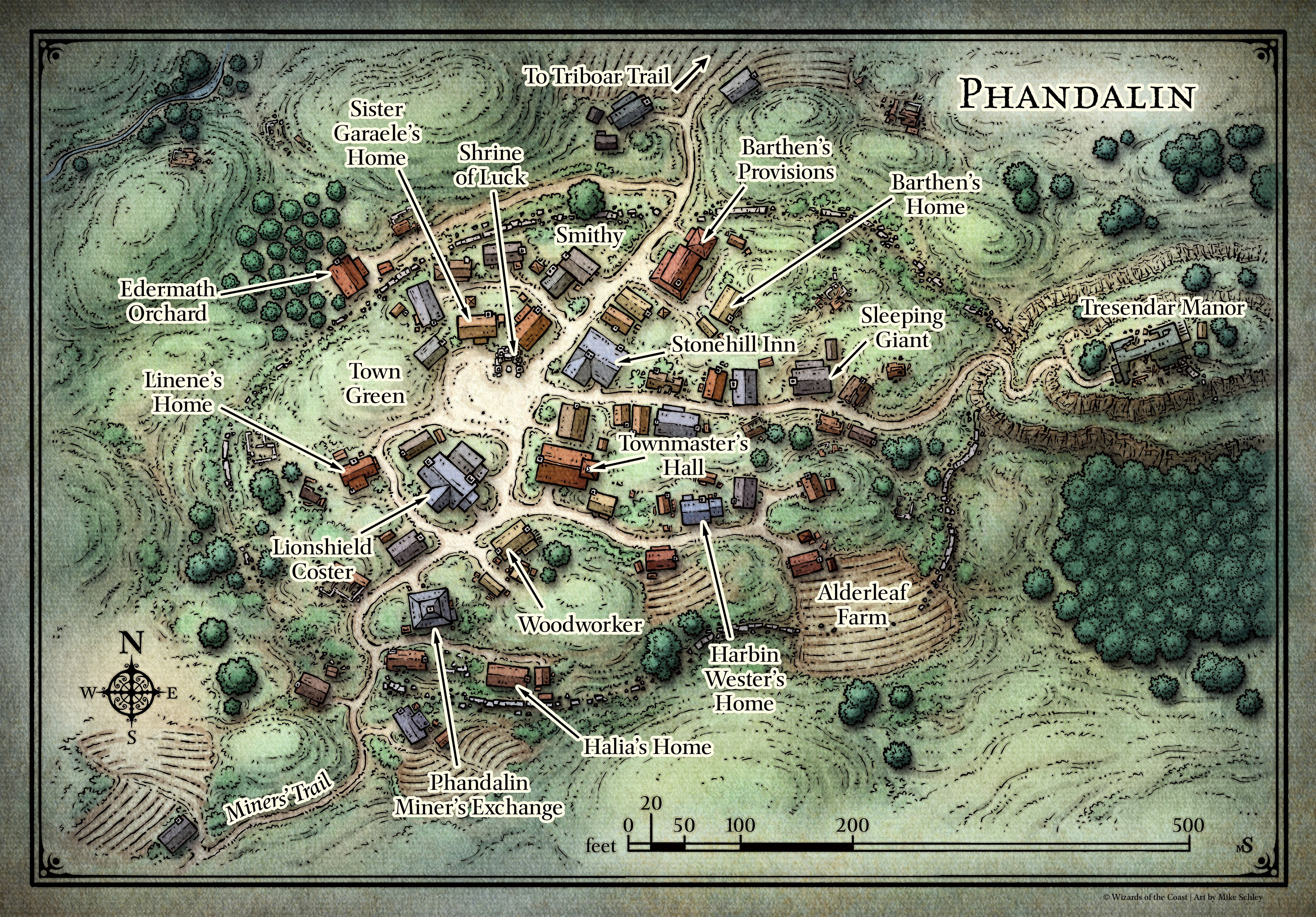 photo relating to Cragmaw Hideout Printable Map identify Phandalin - The 5e Marketing campaign