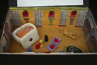 create a burial chamber the ancient egypt project
