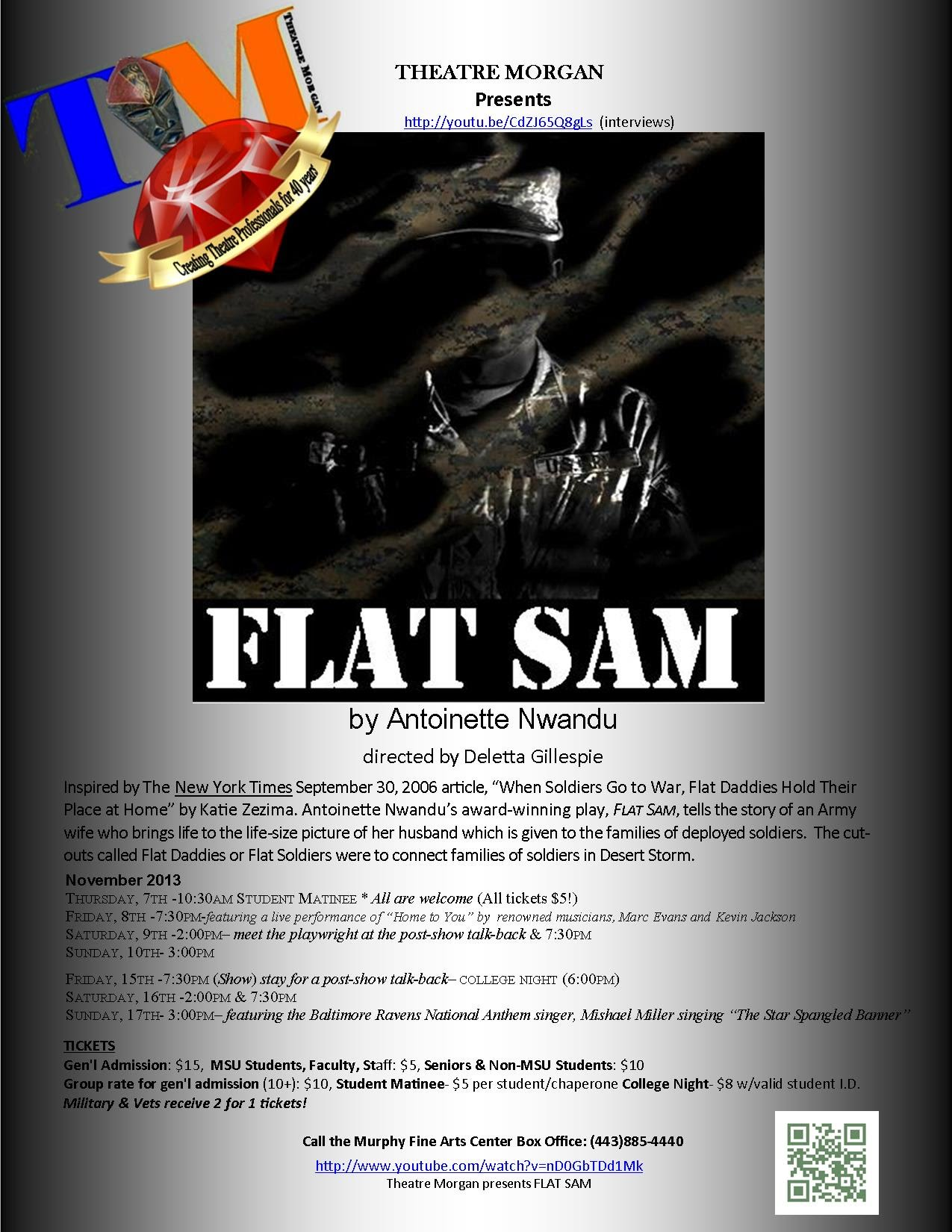 FLAT SAM and activities