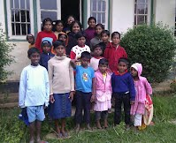 Orphans with Matron at Paynter Home