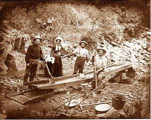 what was the impact of the california gold rush